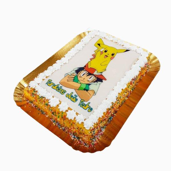 Bolo Ash E Pikachu