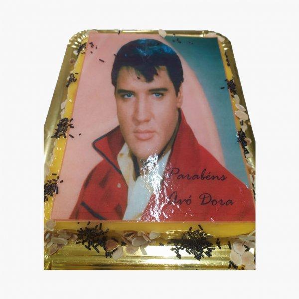 Bolo Foto Elvis