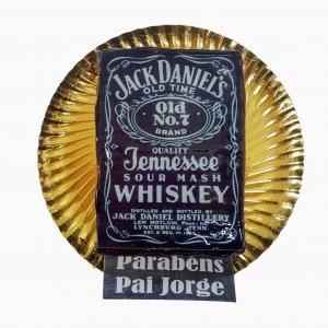 Bolo Jack Daniels Quadrado