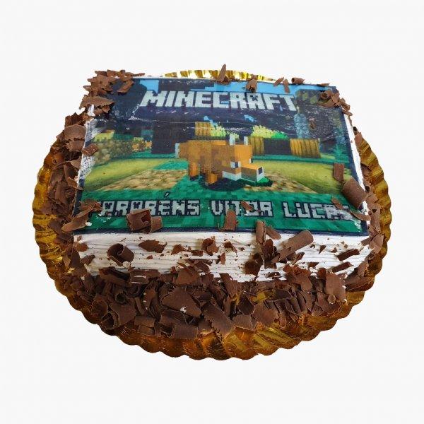 Bolo Jogo Minecraft