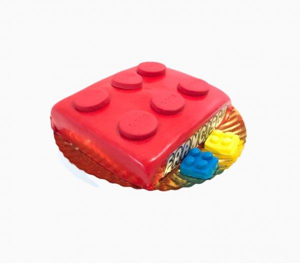 Bolo Lego Vermelho
