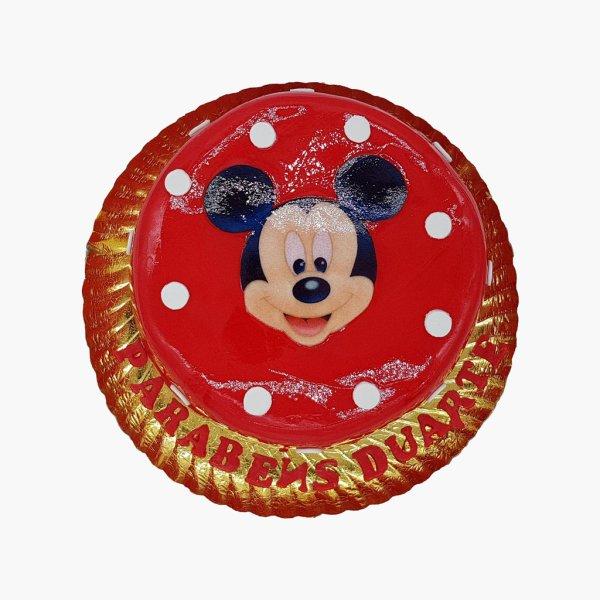 Bolo Mickey Vermelho