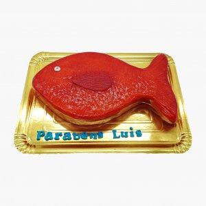 Bolo Peixe Vermelho