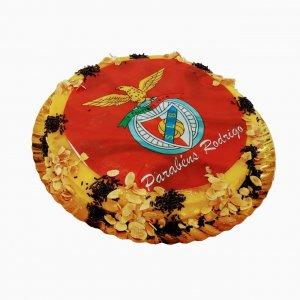 Bolo Redondo Equipa Benfica