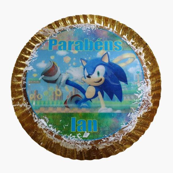 Bolo Sonic Redondo