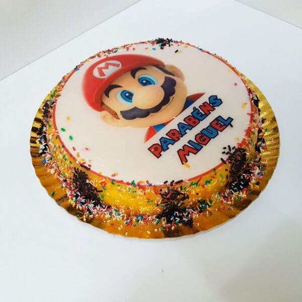 Bolo Super Mario Nintendo
