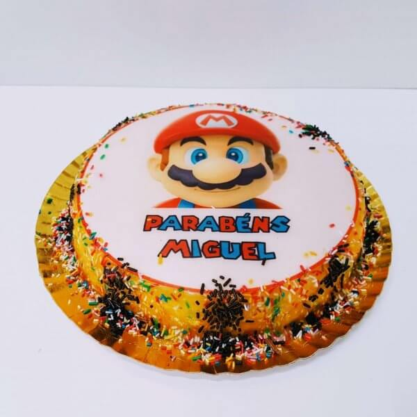 Bolo Super Mario Redondo
