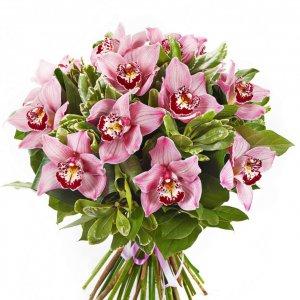 Bouquet Grande De Orquideas